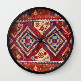 Adiyaman  Antique Turkish Rug Wall Clock