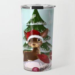 Christmas Present Travel Mug