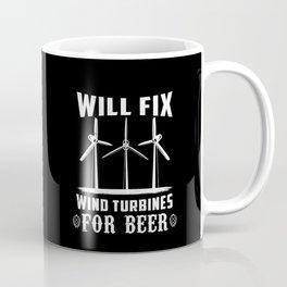 Wind Turbine Technician Gift Idea Coffee Mug