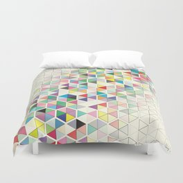 Cuben Split Duvet Cover