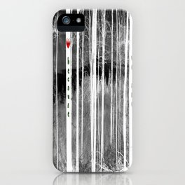Mirror of nature iPhone Case
