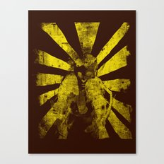 distressed  boxer Canvas Print