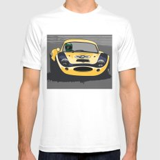 Ginetta  LARGE Mens Fitted Tee White