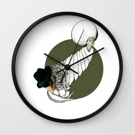 Green Growth Wall Clock