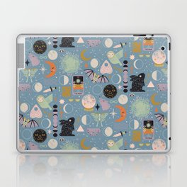 Lunar Pattern: Blue Moon Laptop & iPad Skin