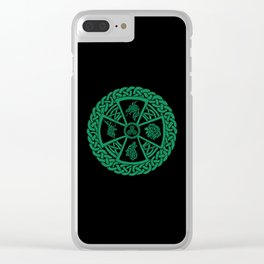 Celtic Nature 2 Clear iPhone Case