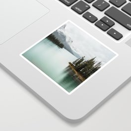 Landscape Photography Maligne Lake Sticker