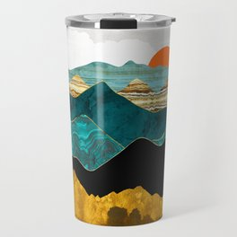 Turquoise Vista Travel Mug