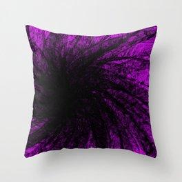 Lavender Spiral2 Throw Pillow