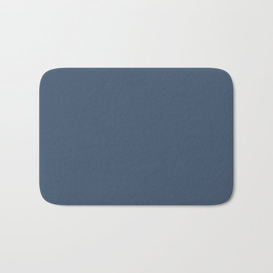 Simply Indigo Blue Bath Mat