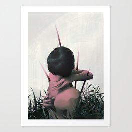 Between Rivers, Rilken No.6 Art Print