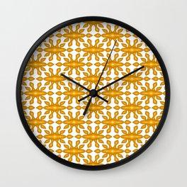 Copper Stylized Sunburst Old Western Spirit Organic Wall Clock