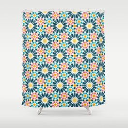 Arabesque Style Shower Curtain