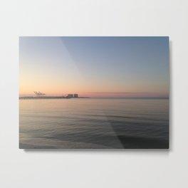 Gulfport Sunrise Metal Print