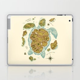 Turtle Island Laptop & iPad Skin