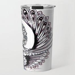 Peacock Spiral Travel Mug