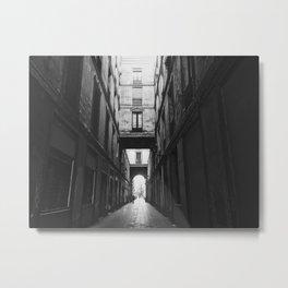 The Gothic Quarter Metal Print
