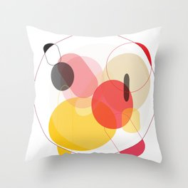 Color Geometry Throw Pillow