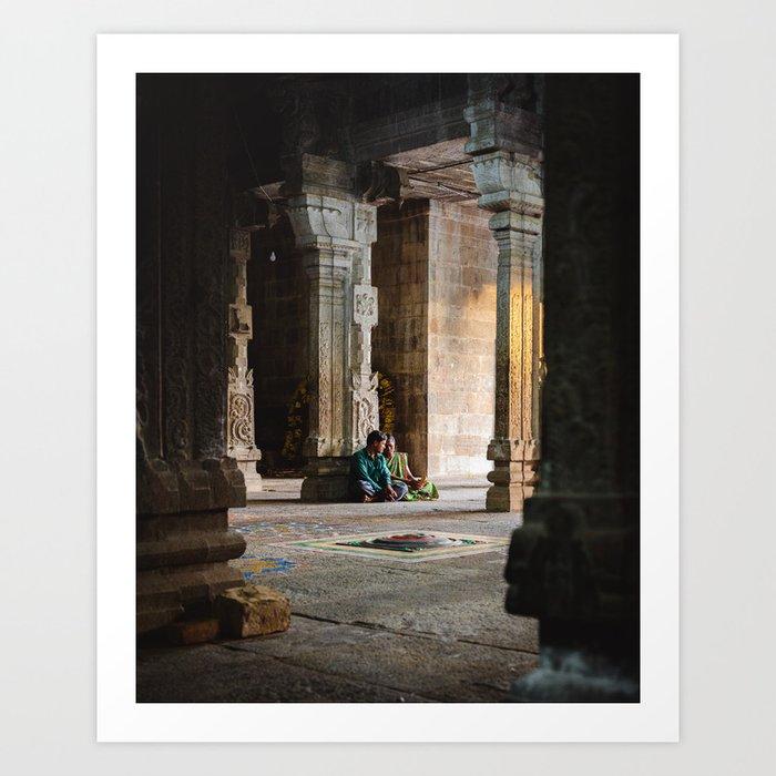 Indian Winter Art Print