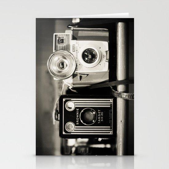 A pair of Kodak Brownies Stationery Cards
