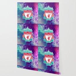 Liverpool Galaxy Design Wallpaper