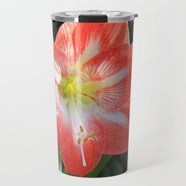 Kayla's Christmas Flower Travel Mug