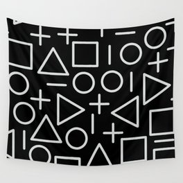Memphis pattern 67 Wall Tapestry