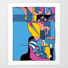 Study no. 4 Art Print