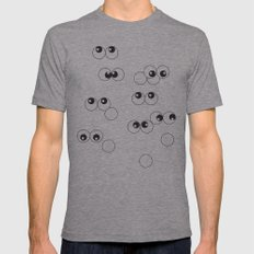 sightseeing Mens Fitted Tee Athletic Grey SMALL