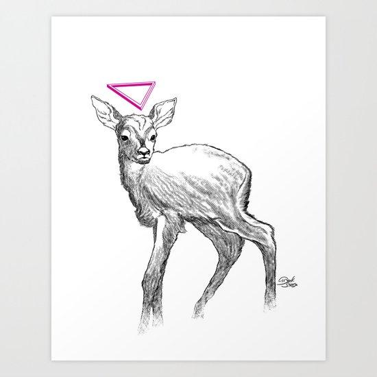 Venado Art Print