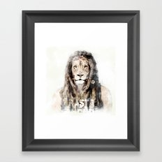 RASTASAFARI Framed Art Print