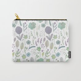 Wild Bloom Carry-All Pouch