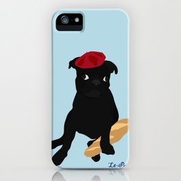 Le Pug iPhone Case