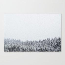 nowhere. Canvas Print