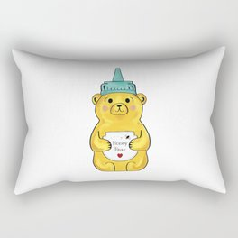 Little Honey Bear Rectangular Pillow