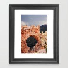 Bryce Canyon Lightning Framed Art Print