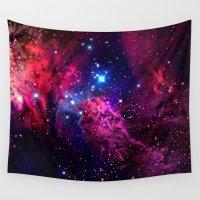 galaxy Wall Tapestries featuring Galaxy! by Matt Borchert