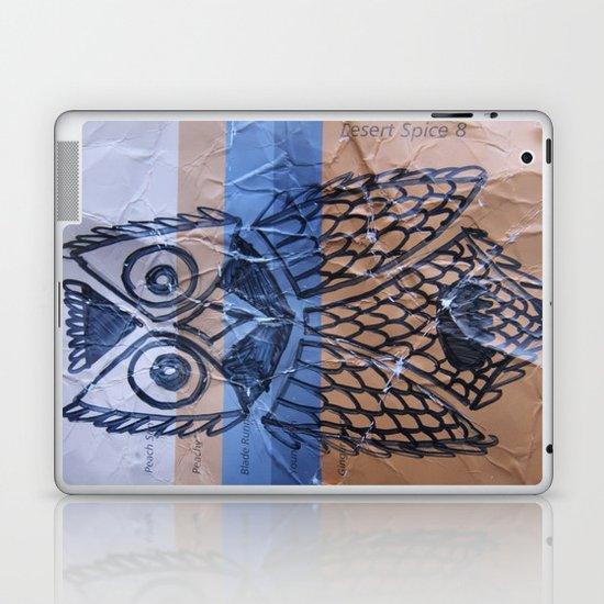 orange owl Laptop & iPad Skin
