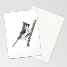 Tufted Titmouse Stationery Cards