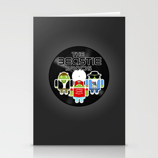 The Beastie Droids Stationery Cards