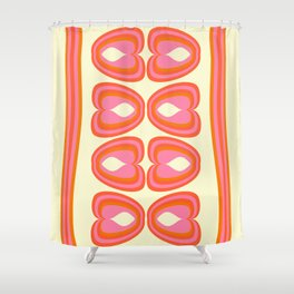 Psi Sixties Shower Curtain