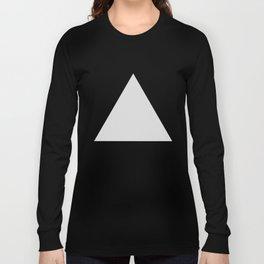 Gray Triangle Long Sleeve T-shirt