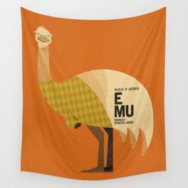 Hello Emu Wall Tapestry