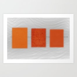 Transport With Noise Art Print