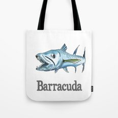 B is for Barracuda Tote Bag