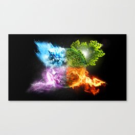 EARTH~ELEMENT Canvas Print