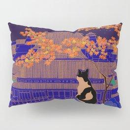 Blue Forbidden City Pillow Sham