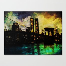 The Twin Towers- In Memory- Never Forget 9-11 New York City Canvas Print