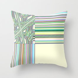Re-Created Southern Cross VIII by Robert S. Lee Throw Pillow