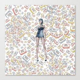 London Club Scene | Punk Rock Girl  Canvas Print